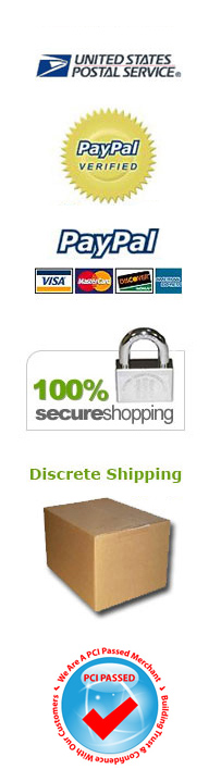 Discreet shipping and easy payment methods